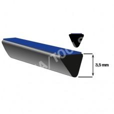 Underglass distance profile self-adh., 5x3,5 mm, 20 m