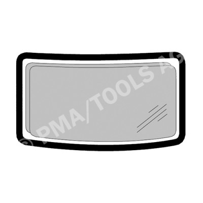 MERCEDES Actros, 96-11, WS-Rubber solid w/o insert gap (5429ASRL)