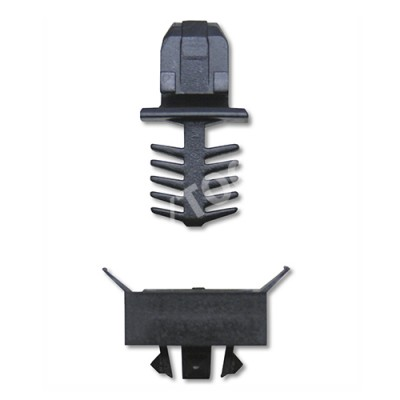 SEAT Alhambra, 96-03, Fastener waterpanel, black